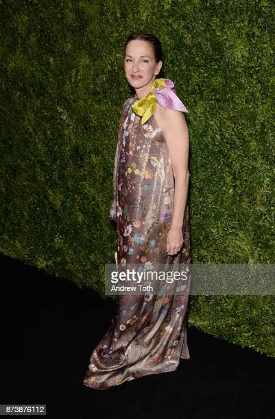 Cynthia Rowley attends The Museum of Modern Art Film Benefit presented by CHANEL A Tribute to Julianne Moore at MOMA on November 13 2017 in New York...