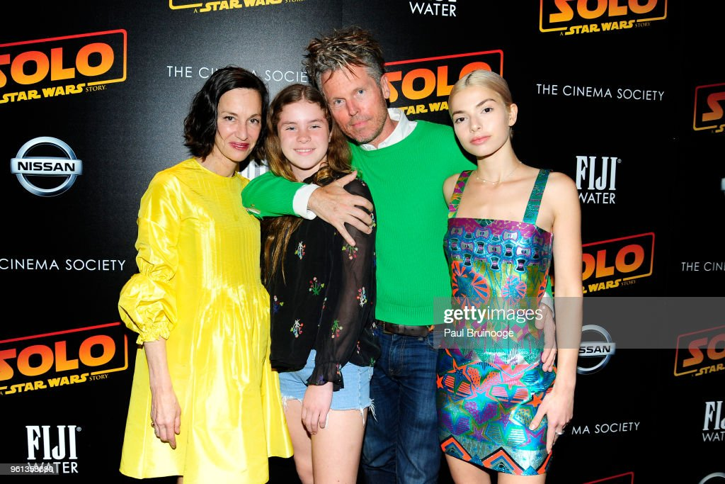 Cynthia Rowley, Gigi Powers, Bill Powers and Kit Keenan attend The Cinema Society With Nissan & FIJI Water Host A Screening Of 'Solo: A Star Wars Story' at SVA Theatre on May 21, 2018 in New York City.