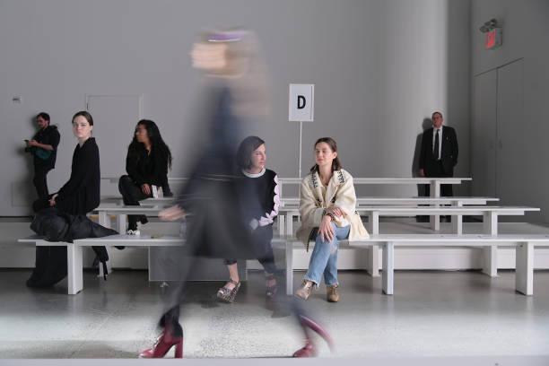 NY: Cynthia Rowley - Backstage - February 2020 - New York Fashion Week: The Shows