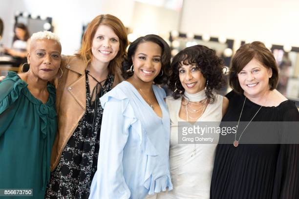 Cynthia Sewell Annie Bond Velvet Johnson Brenda Allen and Colleen Murray attend the Citadel Outlets Launch PINK SAVES Campaign In Partnership With...