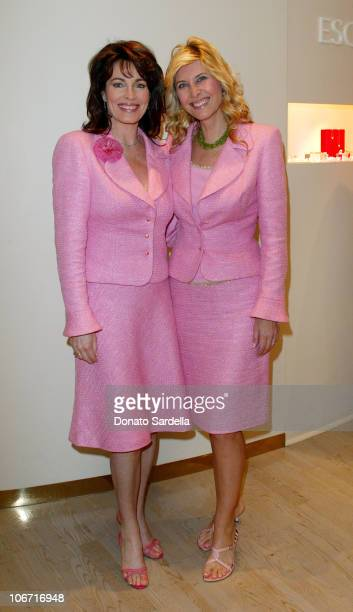 Cynthia Sikes Yorkin Irena Medavoy during Escada Luncheon By Irena Medavoy Wendy Goldberg and Susan Moses at Escada Store in Beverly Hills California...