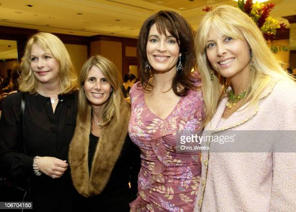 Cynthia Sikes Yorkin Lyn Lear and Irena Medavoy during Zimmer Children's Museum Discovery Award Dinner Chairpersons and Tiffany Co Host Preview of...