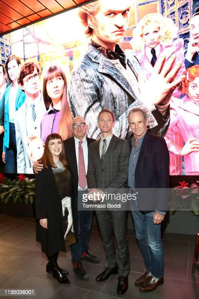 Cynthia Summers Barry Sonnenfeld Neil Patrick Harris and Bo Welch attend Netflix's A Series of Unfortunate Events Red Carpet and Reception at Netflix...