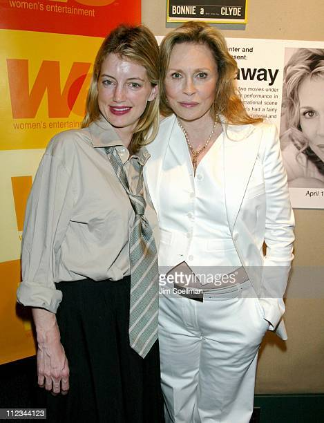 Cynthia Watros Faye Dunaway during A Celebration For Faye Dunaway On The Occasion Of Her Writing Directorial Debut Film 'The Yellow Bird' at Walter...