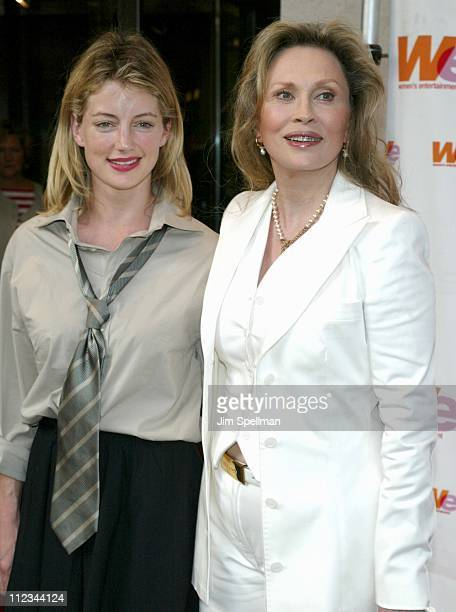 Cynthia Watros Faye Dunaway during A Celebration For Faye Dunaway On The Occasion Of Her Writing Directorial Debut Film The Yellow Bird at Walter...
