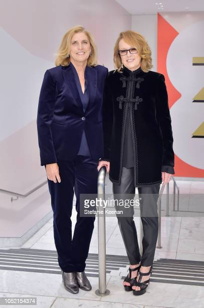 Cynthia Wornham and Ann Philbin attend the Hammer Museum 16th Annual Gala in the Garden with generous support from South Coast Plaza at the Hammer...