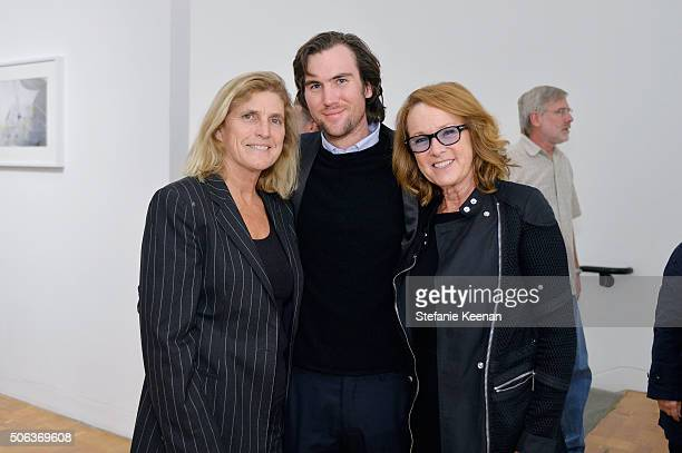 Cynthia Wornham Darquin Wilding and Ann Philbin attend MOCA's Leadership Circle Members' Opening And Artist Dinner For Catherine Opie 700 Nimes Road...