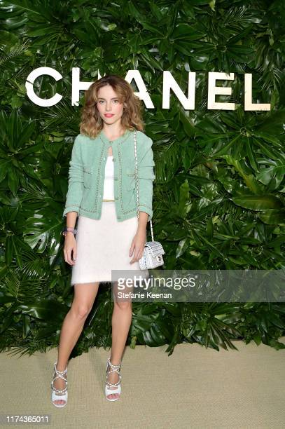 Cynwearing CHANEL attends Chanel Dinner Celebrating Gabrielle Chanel Essence With Margot Robbie on September 12 2019 in Los Angeles California