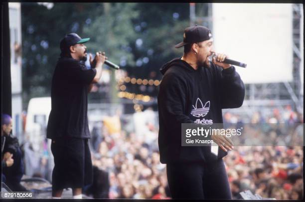 Cypress Hill BReal Sen Dog performing on stage Pukkelpop Festival Hasselt 27th August 1994