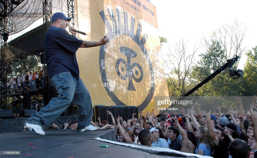 Cypress Hill during Voodoo Music Experience 2003 - Day Three at City Park in New Orleans, Louisiana, United States.