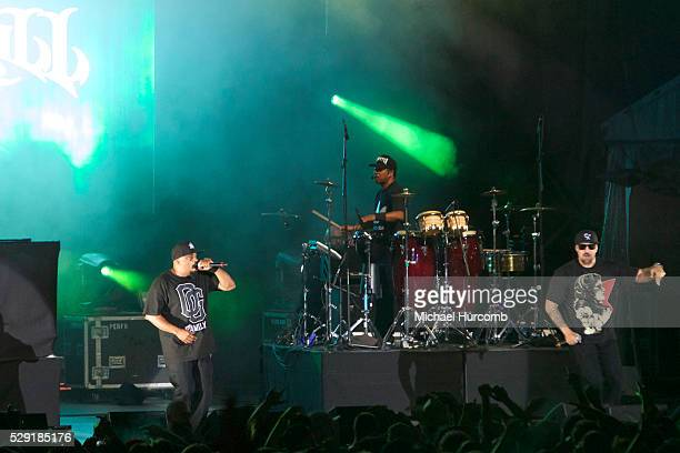 Cypress Hill performs on stage at the 2014 Festival D'ete De Quebec