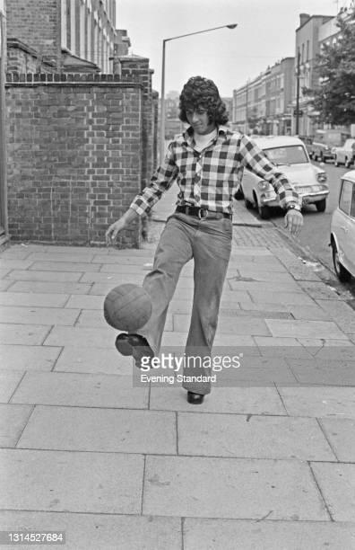 Cypriot footballer Yilmaz Orhan, UK, 31st July 1973.