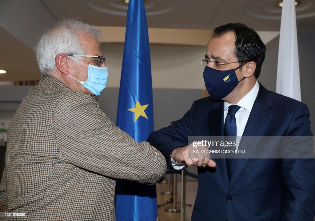 CYPRUS-EU-DIPLOMACY : News Photo