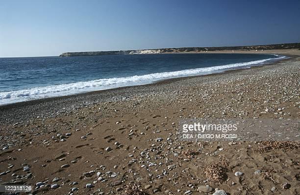 Cyprus, Akamas Peninsula, Lara beach.