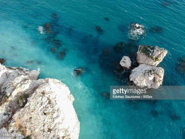 cyprus, aphrodite rock - パフォス ストックフォトと画像