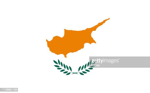 cyprus flag - republic of cyprus stock pictures, royalty-free photos & images