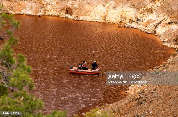 Cyprus investigators continue their search for victims of a suspected serial killer in the Red Lake out of the village of Mitsero southwest of the...