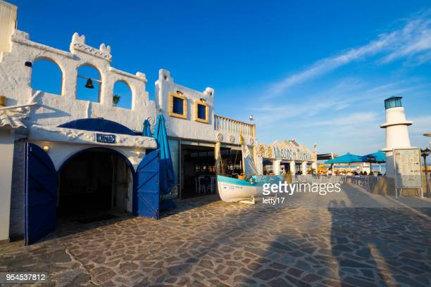 Zypern-Taverne. Ayia Napa.