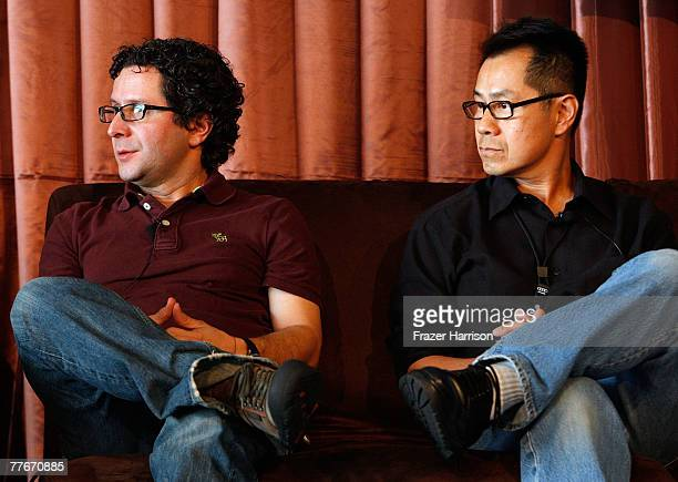 'Cyrano Fernandez' Director Alberto Arvelo and 'Hollywood Chinese' writer/director Arthur Dong speak at the Talk/Show Panel 'From Charlie Chan to...