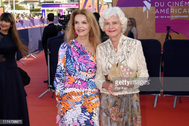 Cyrielle Clair and Anne d'Ornano attend the Award Ceremony during the 45th Deauville American Film Festival on September 14 2019 in Deauville France