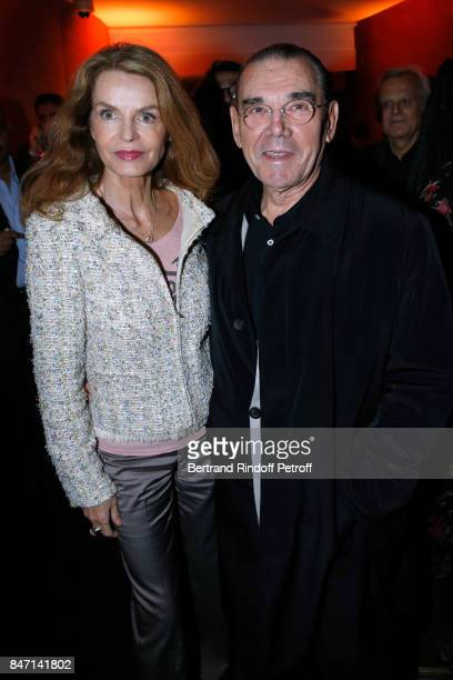 Cyrielle Clair and Michel Corbiere attend the Reopening of the Hotel Barriere Le Fouquet's Paris decorated by Jacques Garcia at Hotel Barriere Le...