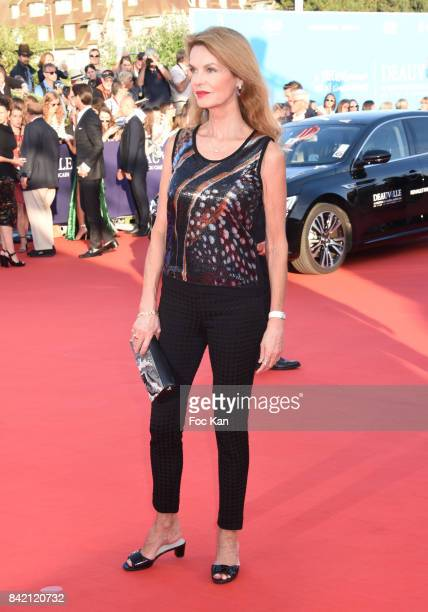 Cyrielle Claire attends the screening of 'Good Time' Premiere during the 43rd Deauville American Film Festival on September 2 2017 in Deauville France