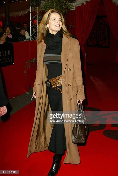 Cyrielle Claire during The Last Samurai Paris Premiere Outside Arrivals at Grand Rex in Paris France