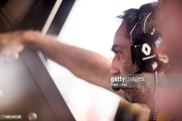 Cyril Abiteboul of Renault and France during the F1 Grand Prix of Hungary at Hungaroring on August 04 2019 in Budapest Hungary