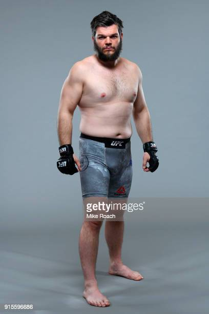 Cyril Asker of France poses for a portrait during a UFC photo session on February 7 2018 in Perth Australia