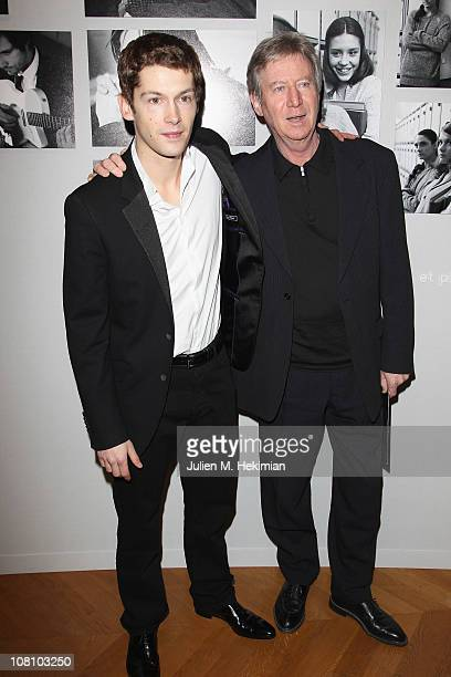Cyril Descours and Regis Wargnier attend the Chaumet's Cocktail Party and Dinner for Cesar's Revelations 2011 on January 17 2011 in Paris France