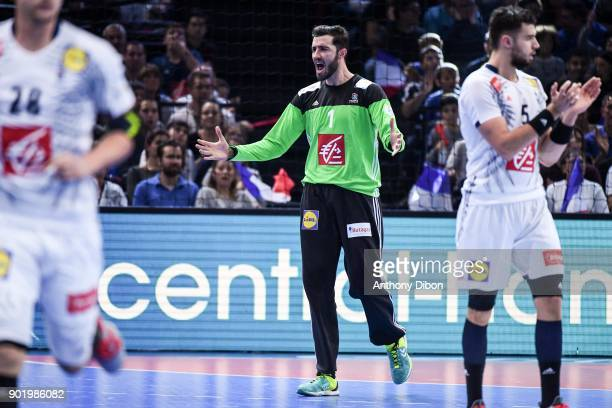 Cyril Dumoulin of France during Golden League match between France and Egypt at AccorHotels Arena on January 6 2018 in Paris France