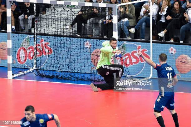 Cyril Dumoulin of France during the European Championship 2020 Qualifying match between France and Lithuania on October 25 2018 in AixenProvence...