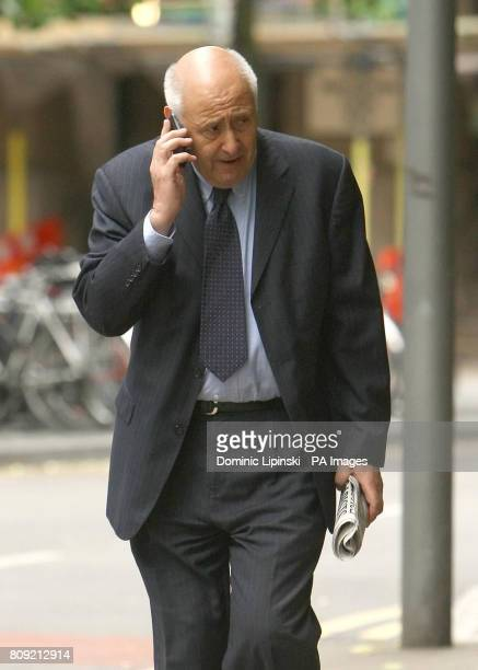 Cyril Gold arrives at Southwark Crown Court in central London where he is charged alongside four others with fraudulent trading over a Beijing...