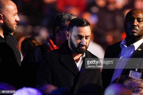 Cyril Hanouna during the boxing event La Conquete at Zenith de Paris on October 14 2017 in Paris France