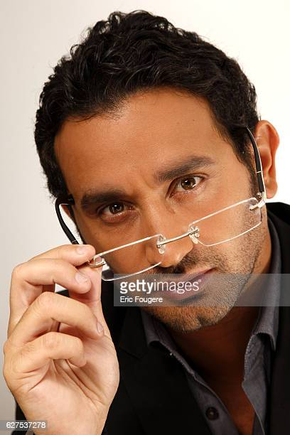 Cyril Hanouna on the set of TV show 'Les Grands du Rire'