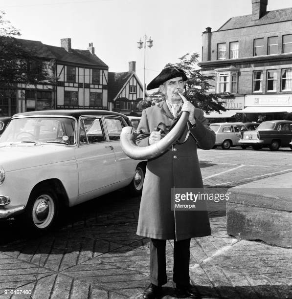 Cyril Hawley the Hornblower of Ripon His nickname is of course Horatio 27th September 1964