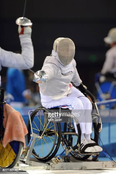 Cyril More Escrime Jeux paralympiques 2008 Pekin