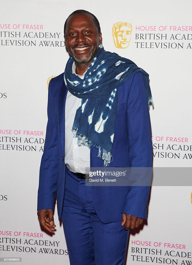 Cyril Nri attends the House of Fraser British Academy Television and Craft nominees party at Mondrian London on April 21, 2016 in London, England.