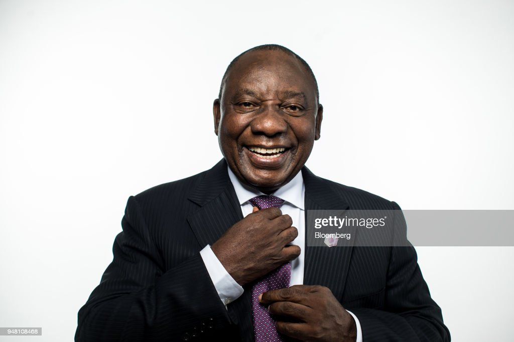 South Africa's President Cyril Ramaphosa Interview