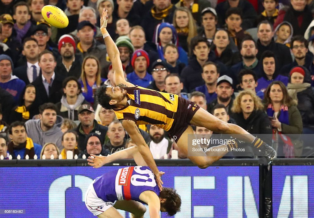 AFL 2nd Semi Final - Hawthorn v Western Bulldogs