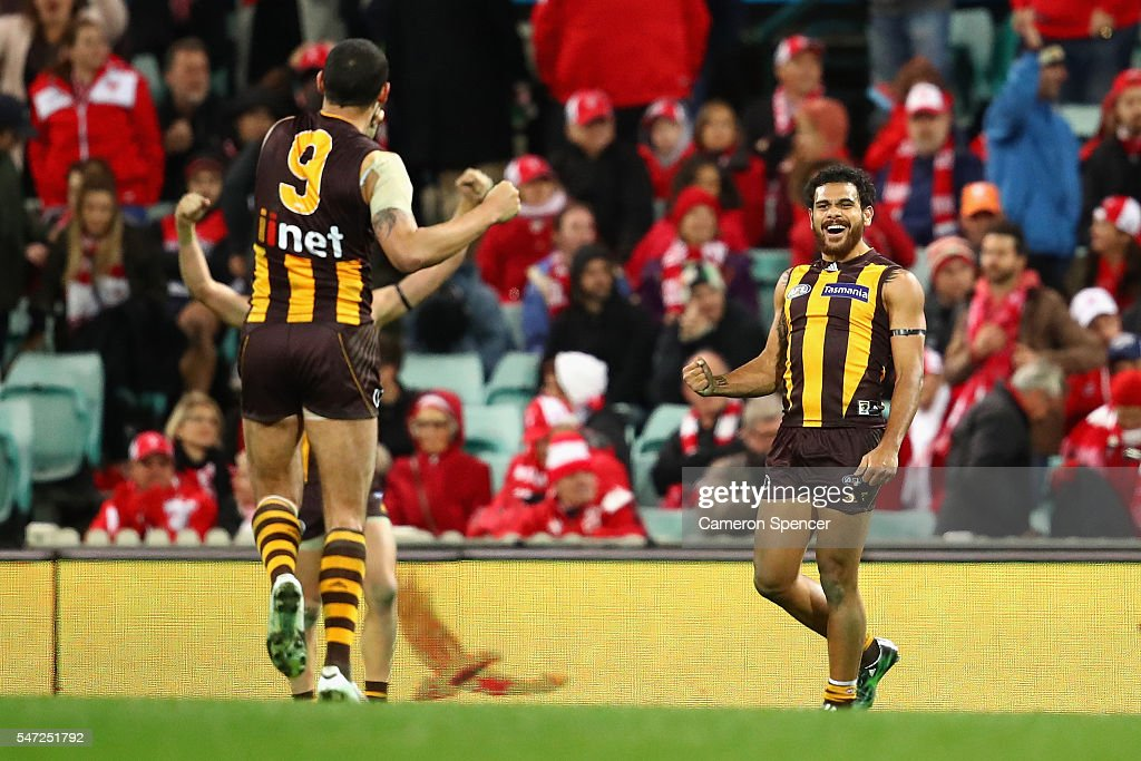 AFL Rd 17 - Sydney v Hawthorn