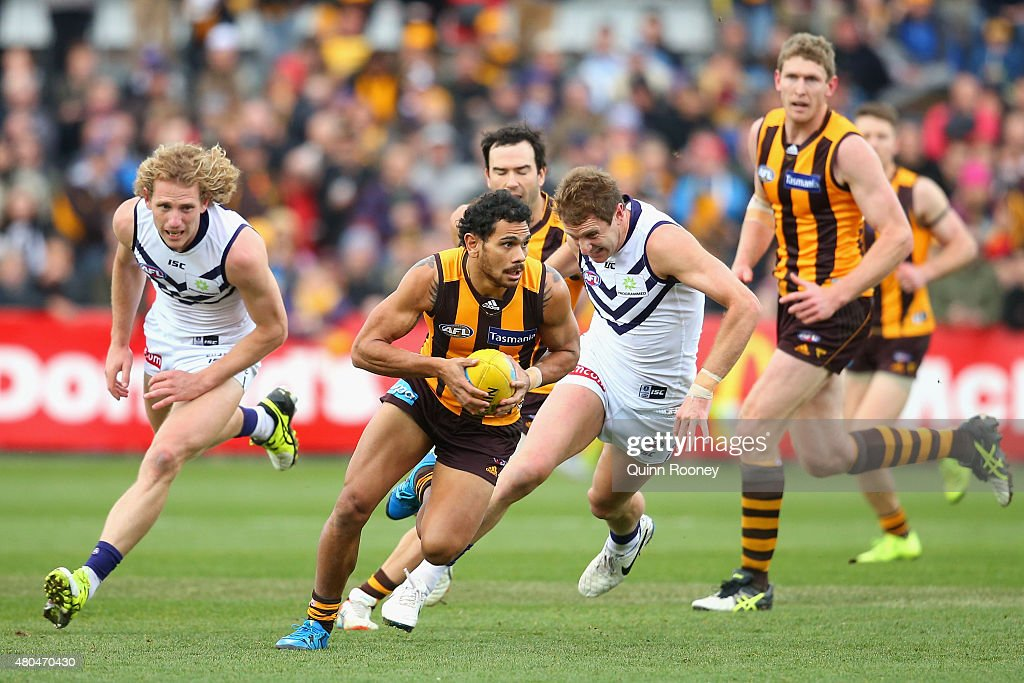 AFL Rd 15 - Hawthorn v Fremantle : News Photo