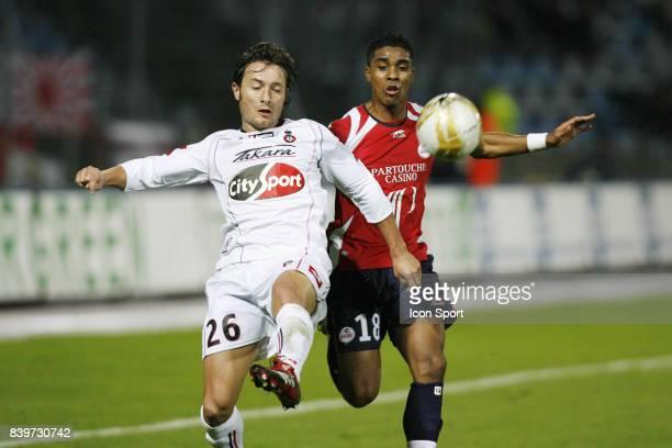 Cyril ROOL / Franck BERIA Lille / Nice 14eme journee de Ligue 1
