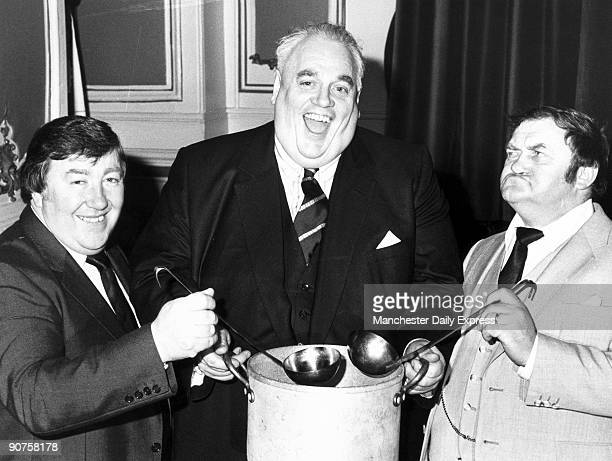 Cyril Smith Liberal party politician with Les Dawson
