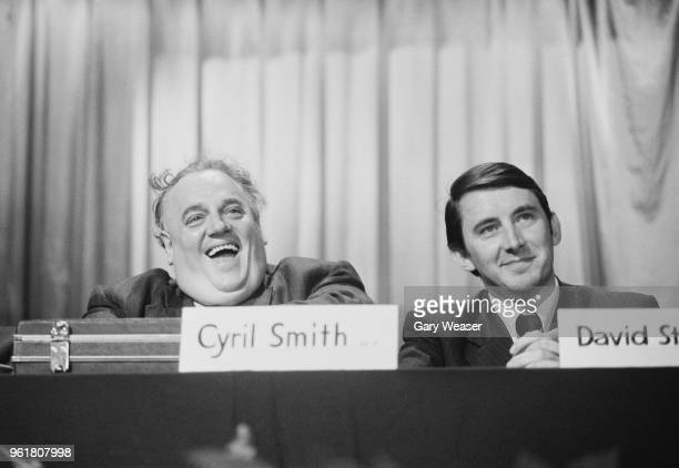 Cyril Smith the Liberal MP for Rochdale and Liberal party leader David Steel 20th September 1973