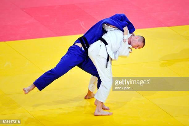 Cyrille MARET / Dimitri PETERS 100kg Championnats du Monde de Judo 2011 Paris