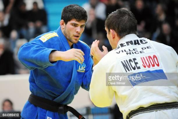 Cyrille MARET / Jerome SENAC 100kg Championnats de France de Judo Stade Coubertin Photo Dave Winter / Icon Sport