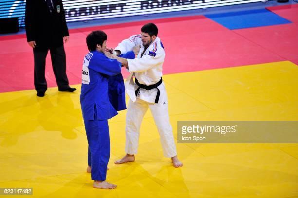 Cyrille MARET / Jinling YUAN 100kg Championnats du Monde de Judo 2011 Paris
