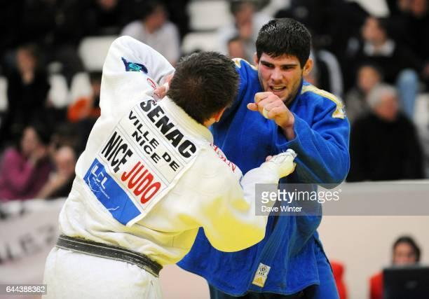Cyrille MARET Moins de 100 kg Championnats de France de Judo Stade Coubertin Photo Dave Winter / Icon Sport