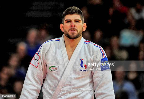Cyrille Maret of France won his third Paris Grand Slam when he defeated Kyle Reyes of Canada by an ippon with a hold for the gold medal during the...